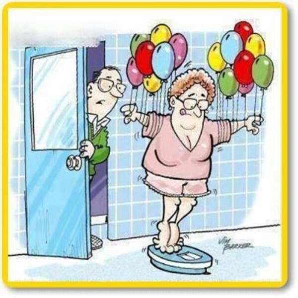 Bajar de peso caricaturas chistosas