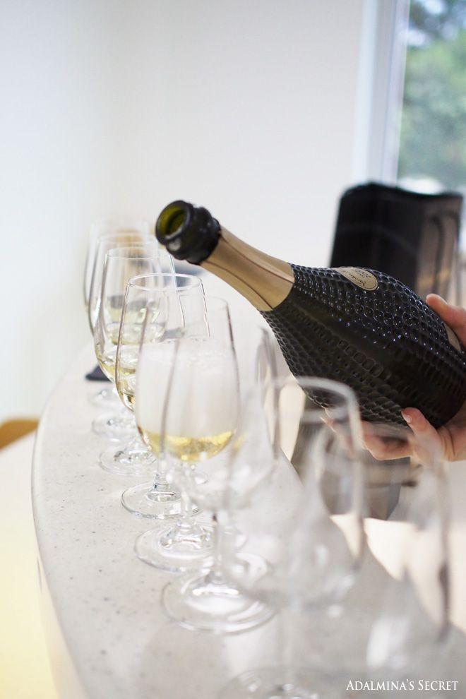 Champagne tasting at Nicolas Feuillatte - Adalmina's Secret