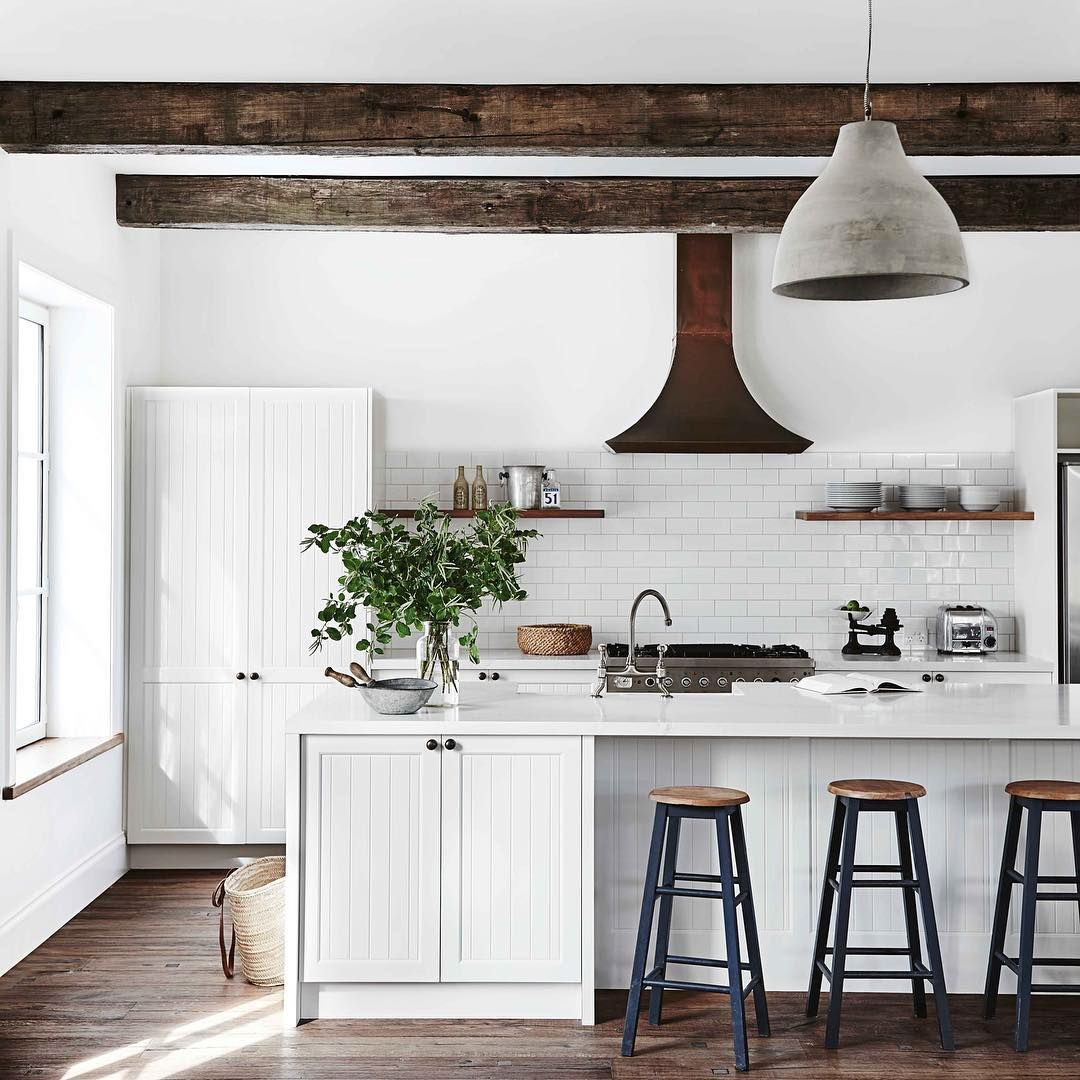 Is This The Perfect Country Kitchen? Featuring Ceiling