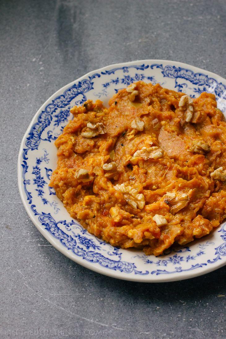 - Mirza Ghasemi - Aubergine Garlic Dip -