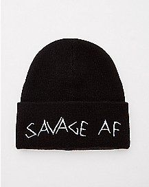 3fbd823b4ec Savage AF Beanie Hat