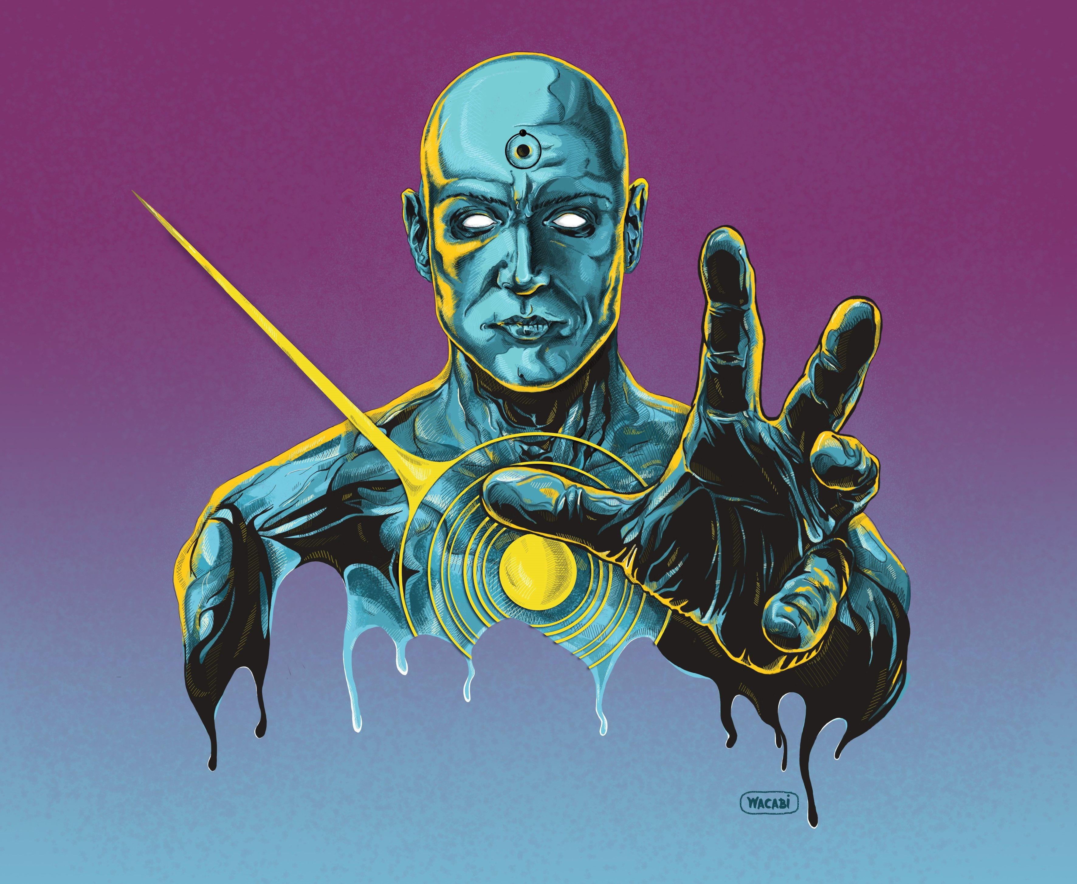 Dr Manhattan Watchmen Superhero Comic Art Superhero Comics Art Comic Art Superhero Wallpaper