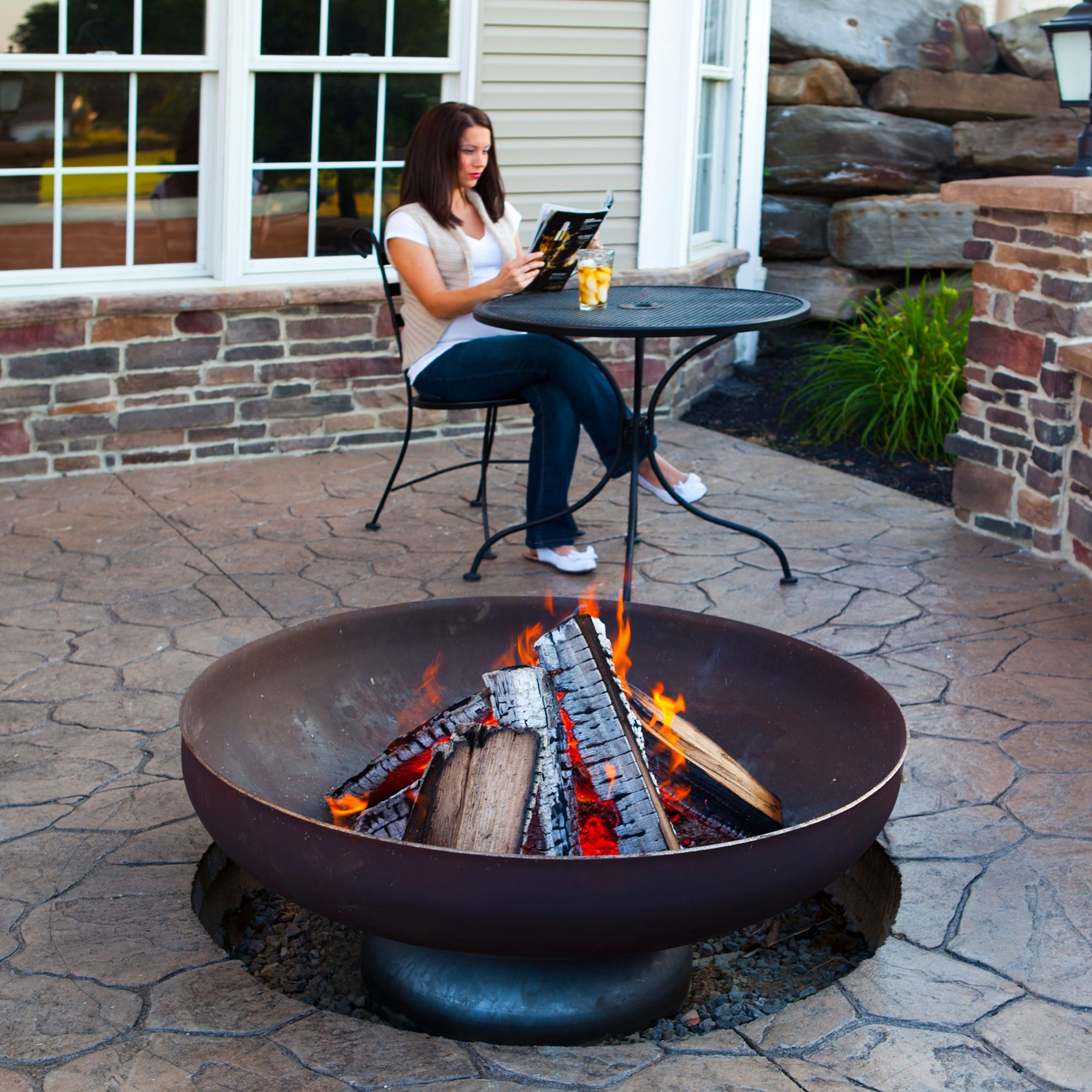 Ohio Flame Steel Fire Ring
