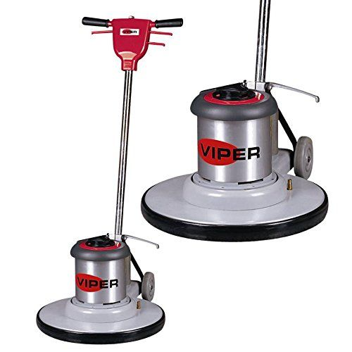 Viper Cleaning Equipment Vn1715 Venom Series Low Speed Buffer 17 Deck Size 175 Rpm 50 Power Cable 110 Cleaning Equipment Cleaning Ceramic Tiles Cleaning