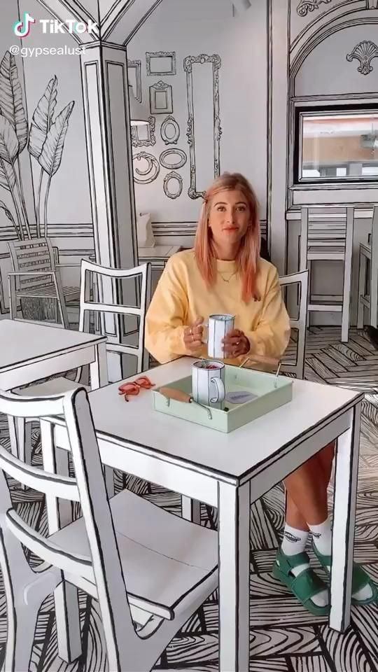 Pin By Leng Neary On Tiktoks Video Loft Design Restaurant Interior Design Cafe Design