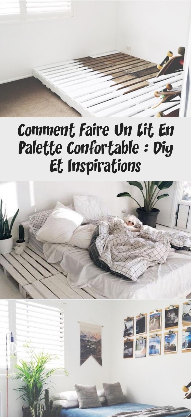 Comment Faire Un Lit Soi Meme comment faire un lit en palette confortable : diy et