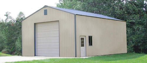 30 39 x 36 39 x 16 39 garage at menards pole barns pinterest for Garage roofing options