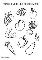 Frutta E Verdura Di Stagione Settembre Portale Bambini Verdura Frutta Stagioni