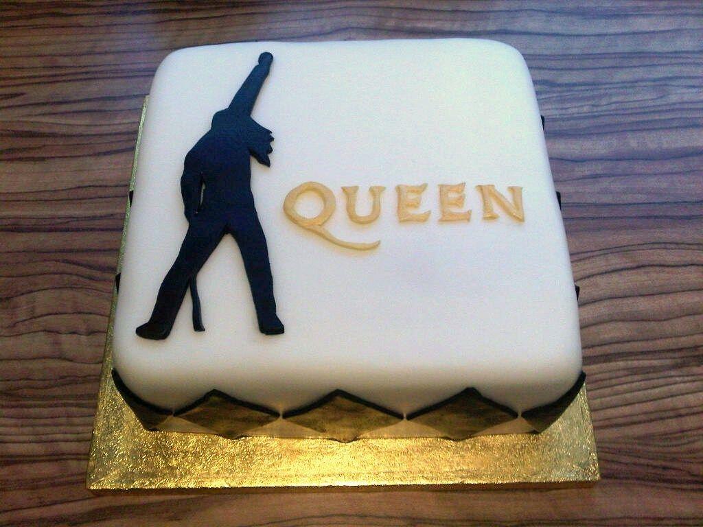 Brighton Baker Freddie Mercury Cake