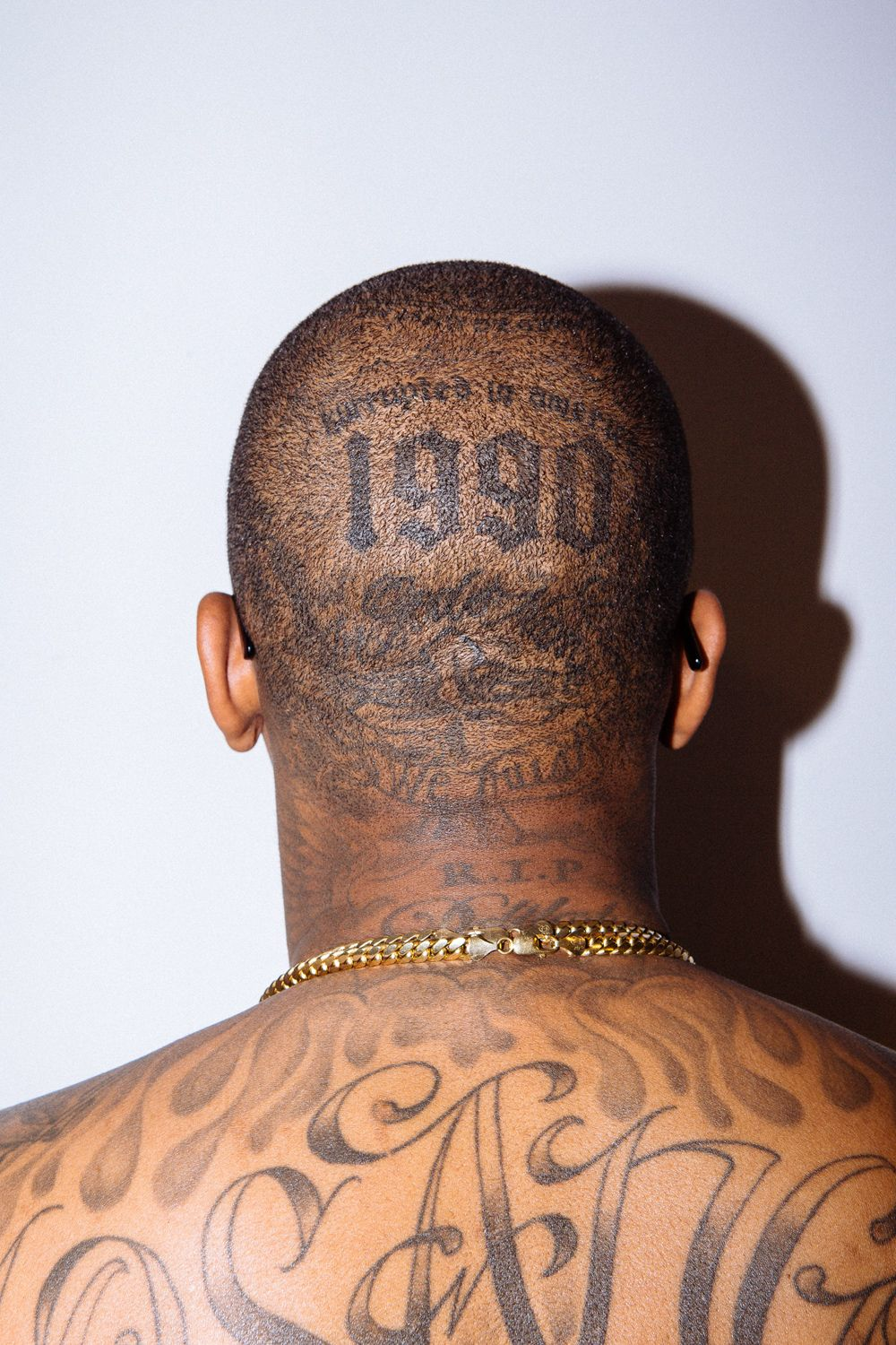 e3d73e694 Yg Tattoos, Head Tattoos, Yg 4hunnid, Rapper, Ink Art, Art Direction