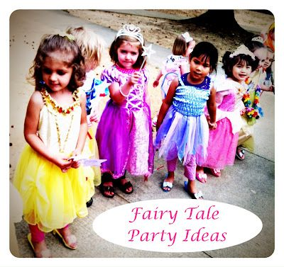 A Fairy Tale Playdate: Activities and Food Ideas