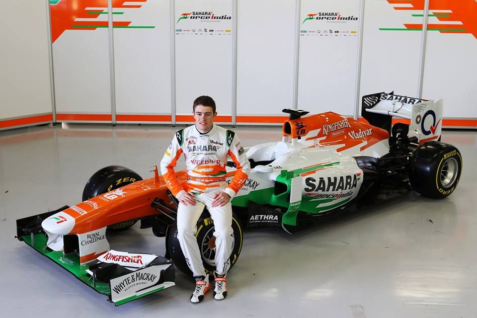 Photoshoot With The Force India F1 Car And Driver Force India Sports Pictures Car And Driver