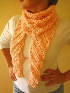Diagonal Baktus Lace Scarf Crochet Stuff Ii Wearables Lace