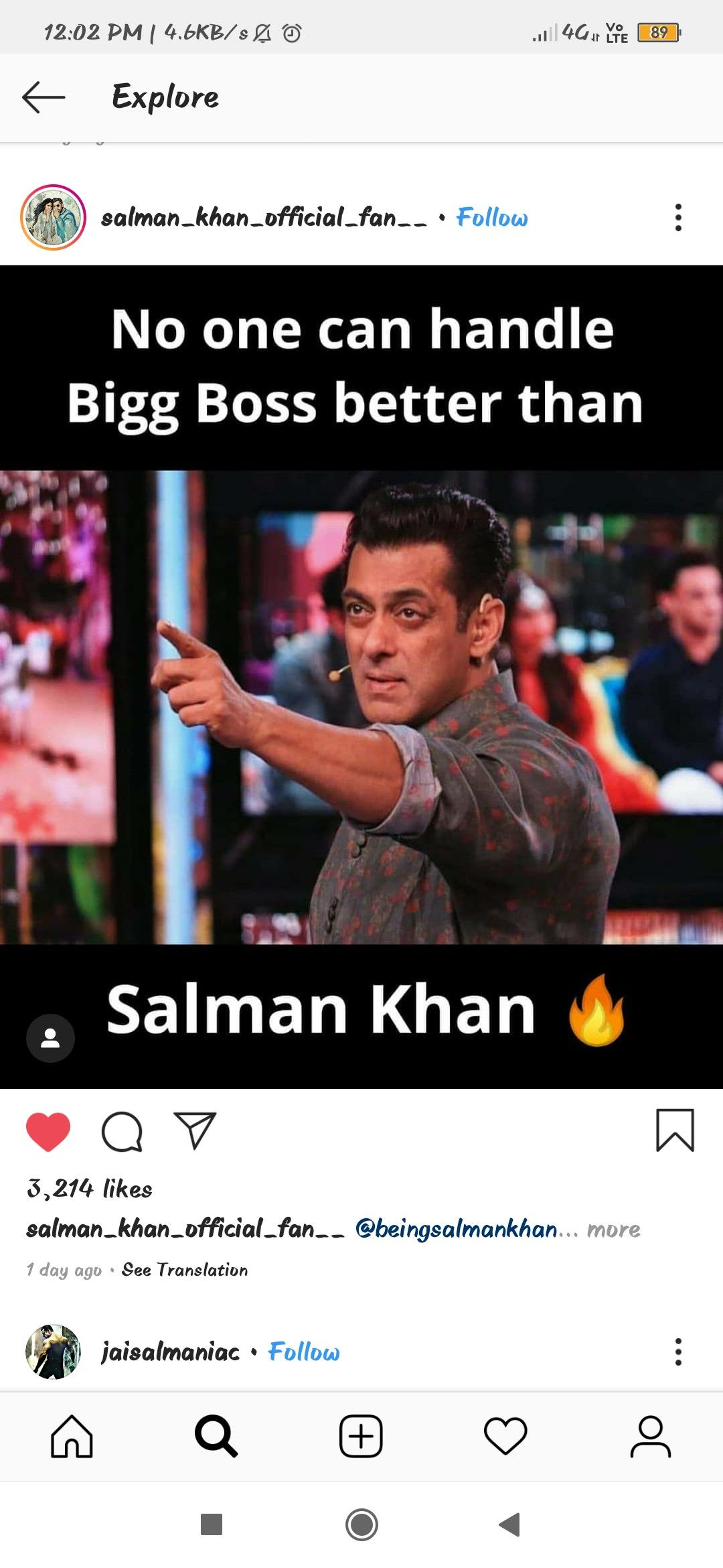 True Salmankhan The One And Only My Jaan Salman Khan I Love You