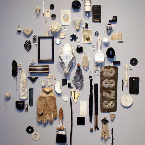 Random Objects As Art Installation Art Displaying
