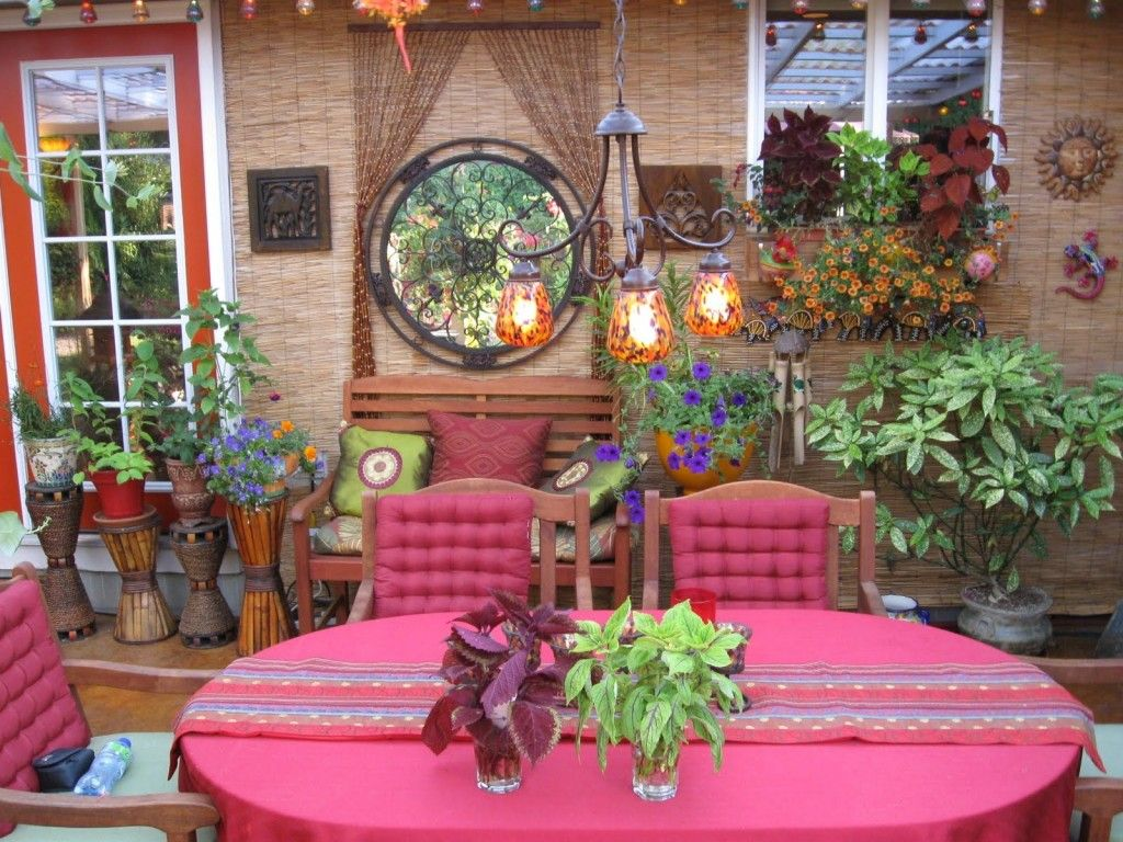 Mexican Patio Decorating Ideas Decor Tropical