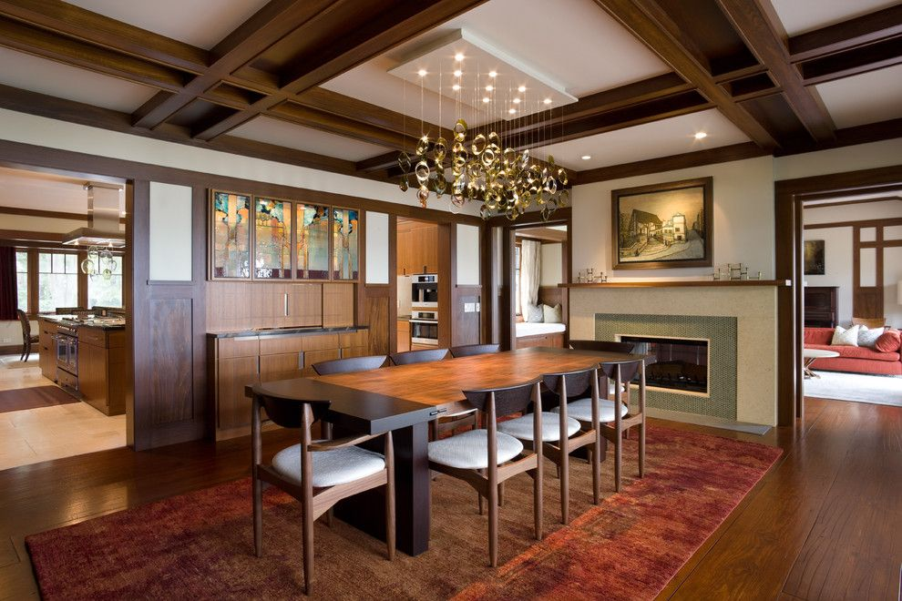 15 Wonderful Craftsman Dining Design Ideas | Craftsman style decor ...