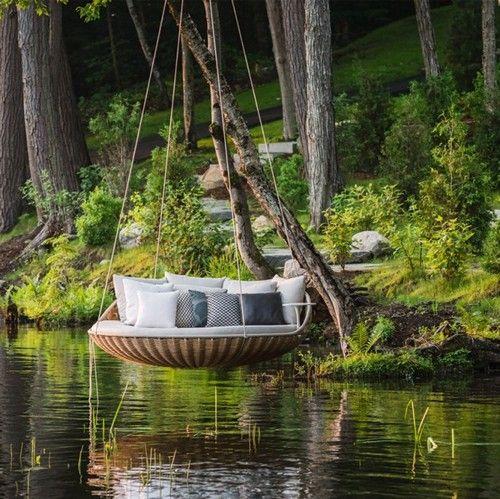 outdoor swing chair bunnings amazon adirondack swings yard and garden