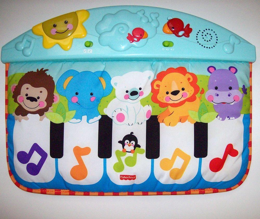 Fisher Price Precious Planet Kick Amp Play Piano Crib Toy