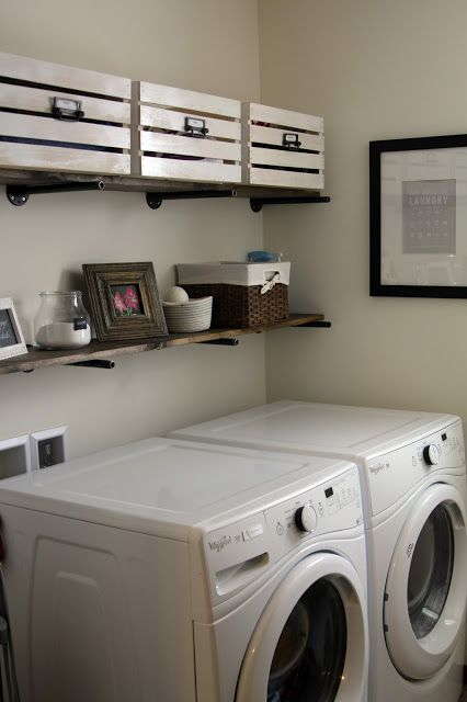 Industrial Laundry Room Make Over Laundry Room Room Laundry