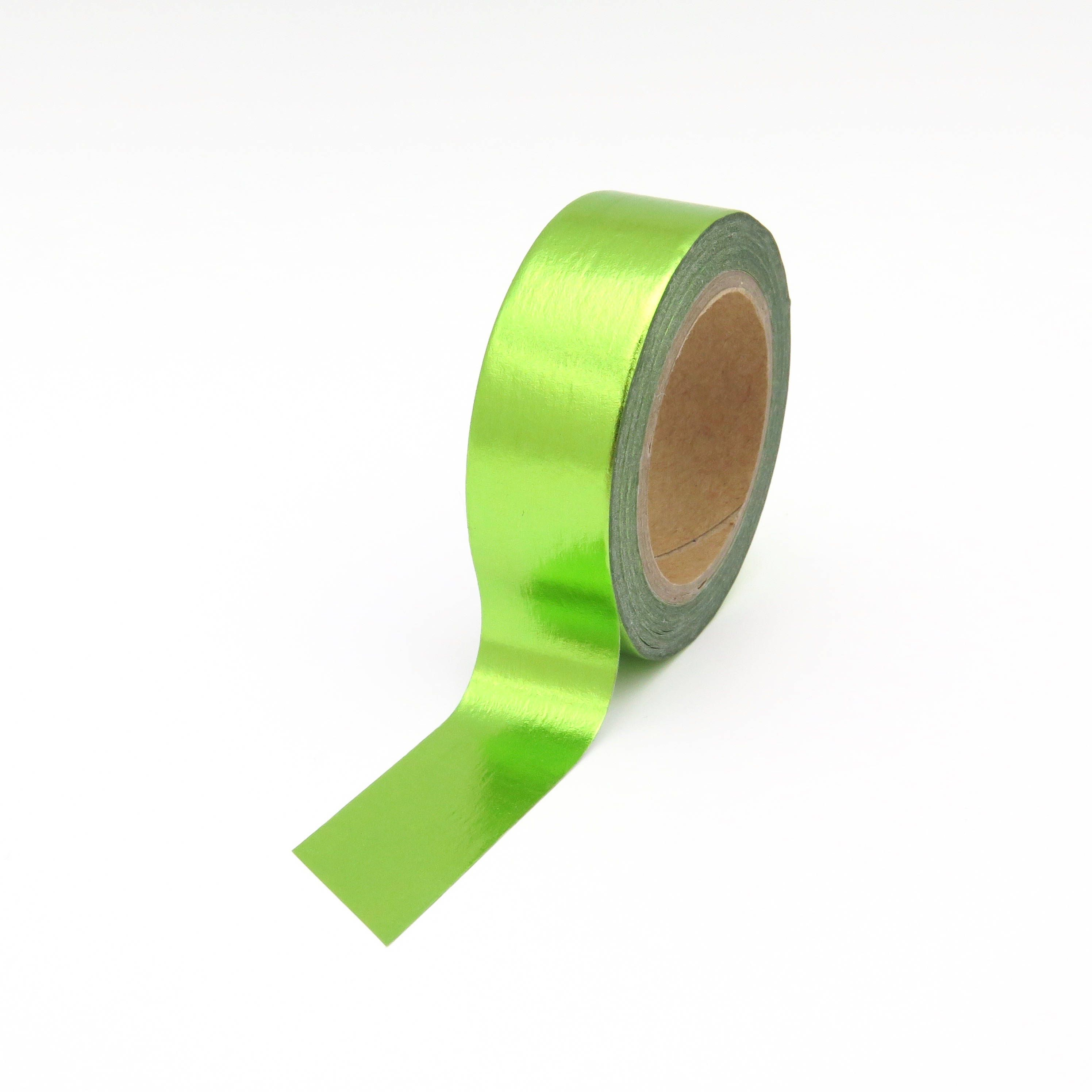 Craft Decorative Tape Light Green Plain Washi Tape
