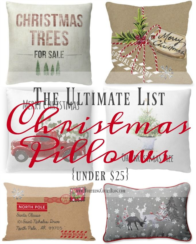 Christmas Pillows Part - 42: Christmas In My Farmhouse Breakfast Nook