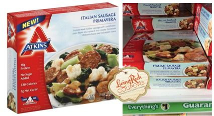 Free Atkins Frozen Entree At Dollar Tree After Newspaper Coupon
