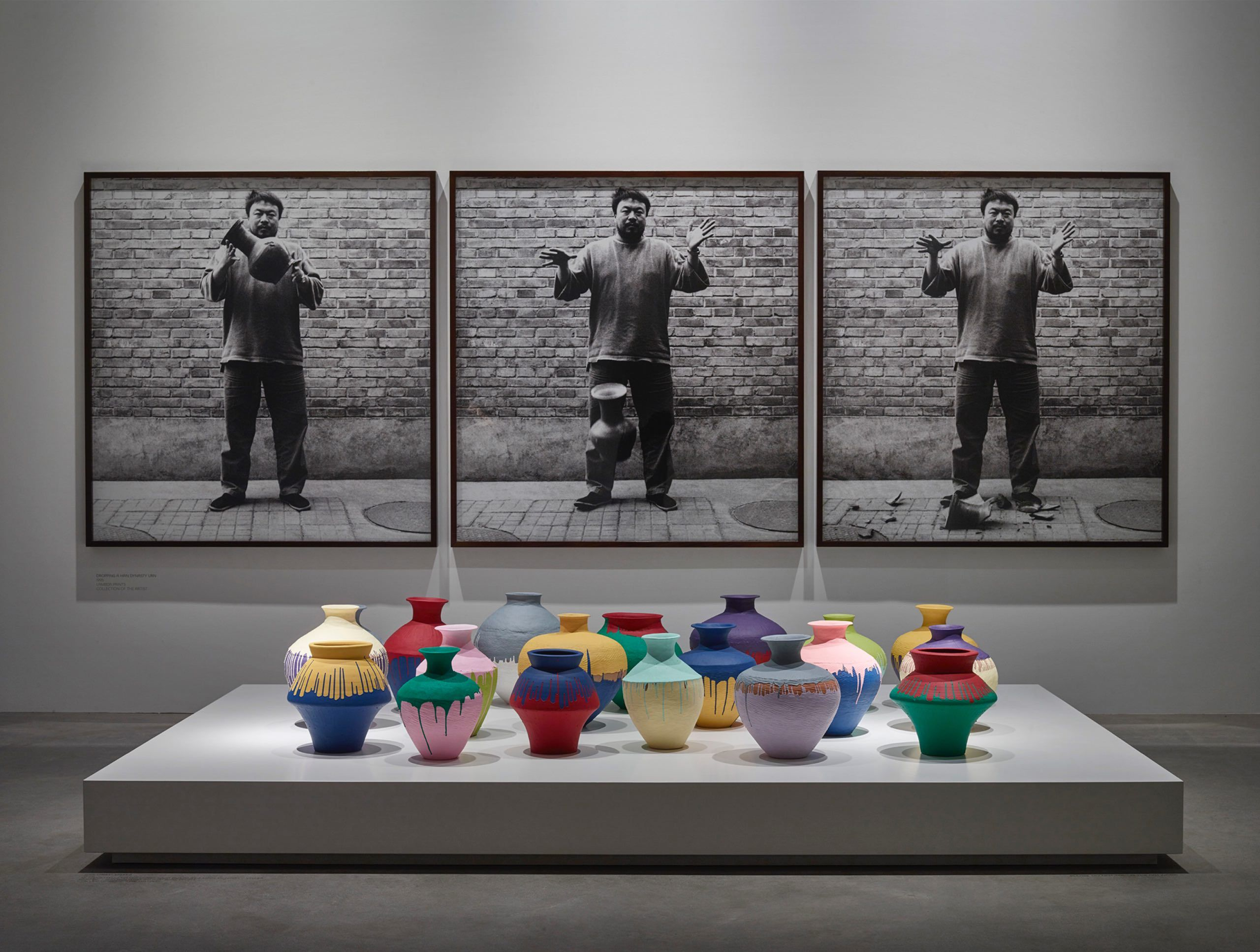 Ai weiwei dropping a han dynasty urn background of installation ai weiwei dropping a han dynasty urn background of installation 1995 and floridaeventfo Image collections