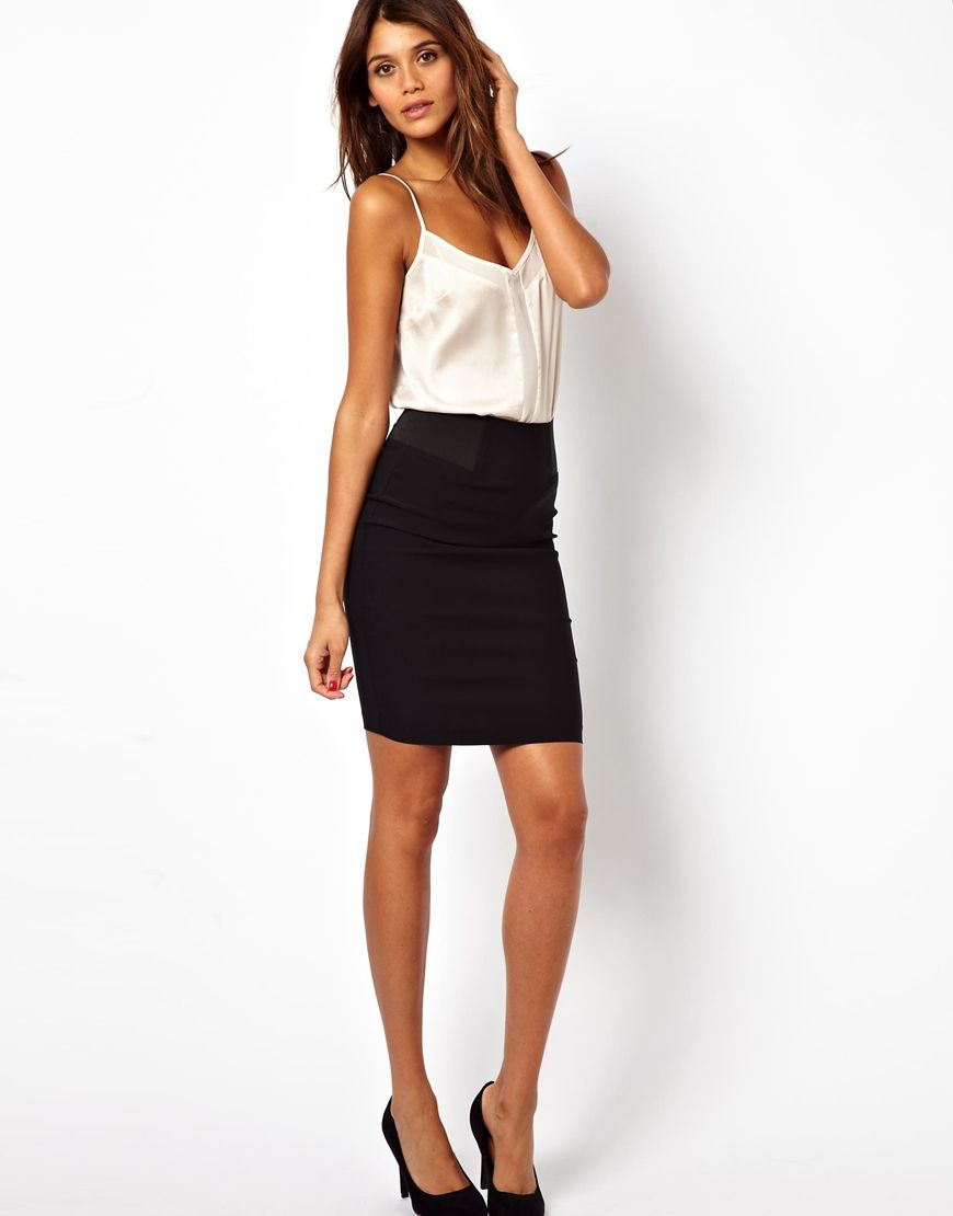 Black pencil skirt asos | SHOE WHOREE/CLOSET FREAK | Pinterest ...
