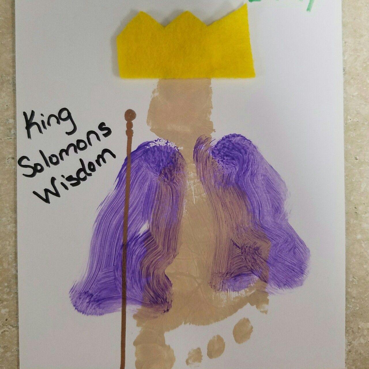 Wisdom Of King Solomon Footprint