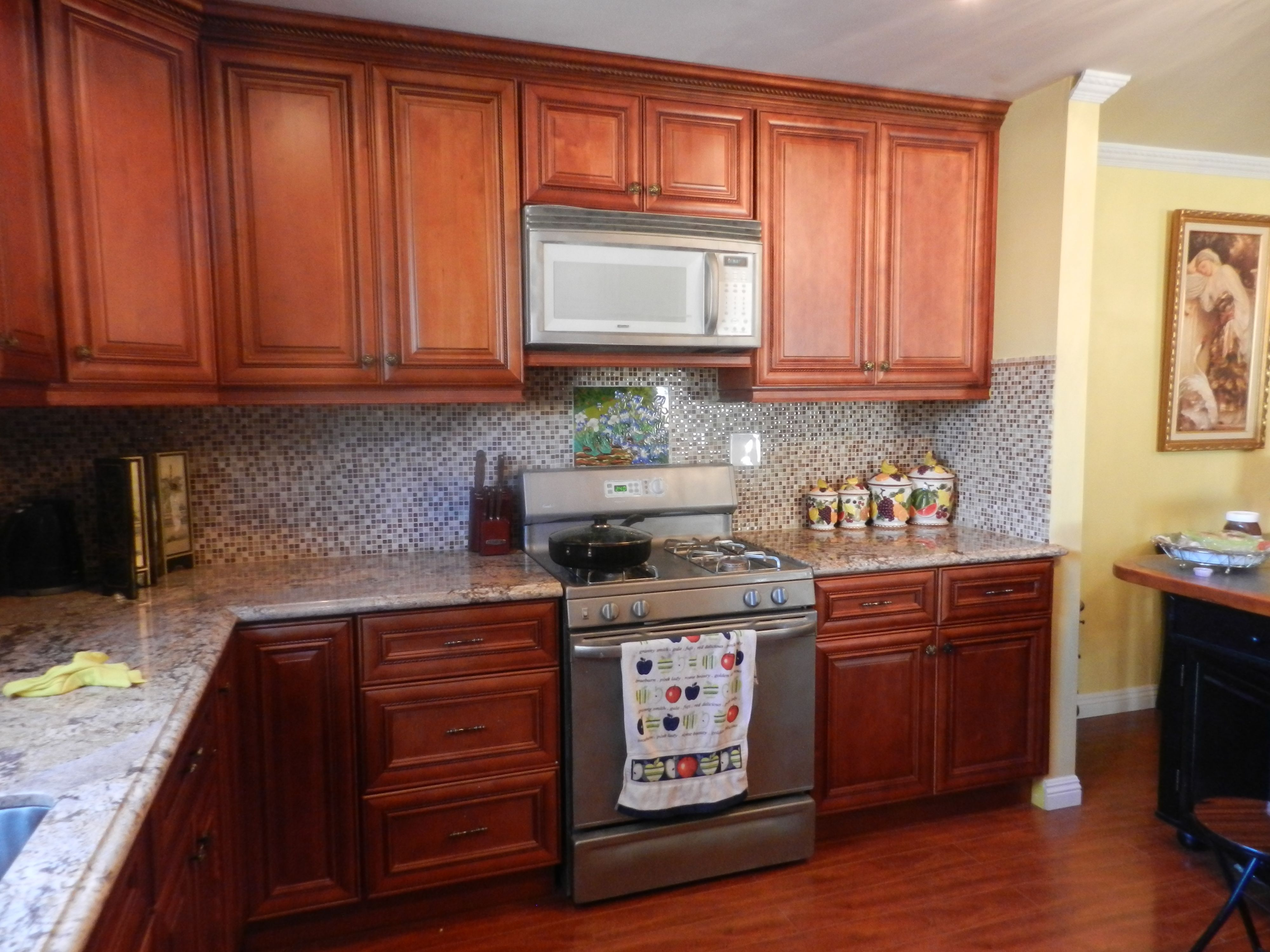 The Mocha Rope By Lilit M From Reseda Ca Cabinets Home Kitchen Decor Maplewood Highqualit Assembled Kitchen Cabinets Kitchen Remodel Kitchen Cabinets