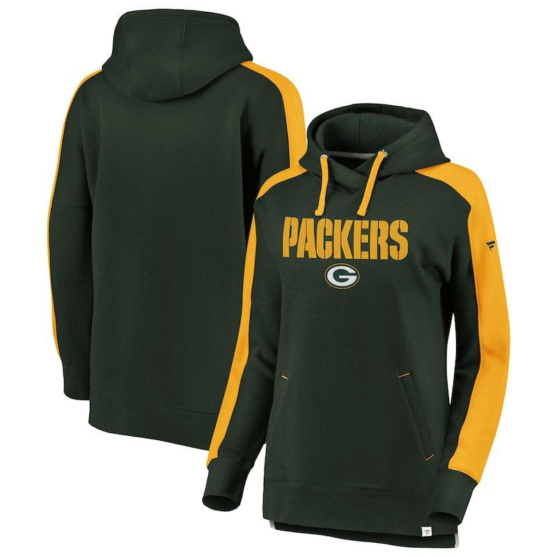 76ad7379 Green Bay Packers NFL Pro Line by Fanatics Branded Women's Iconic ...