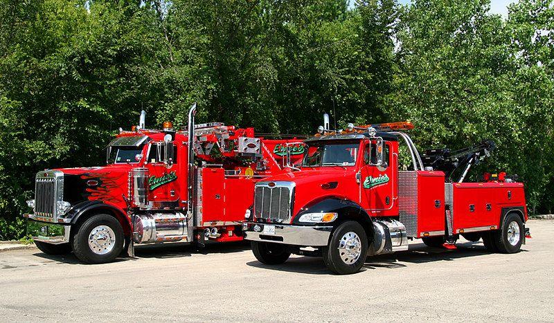 Modern wreckers myersfirephotos wrecker service