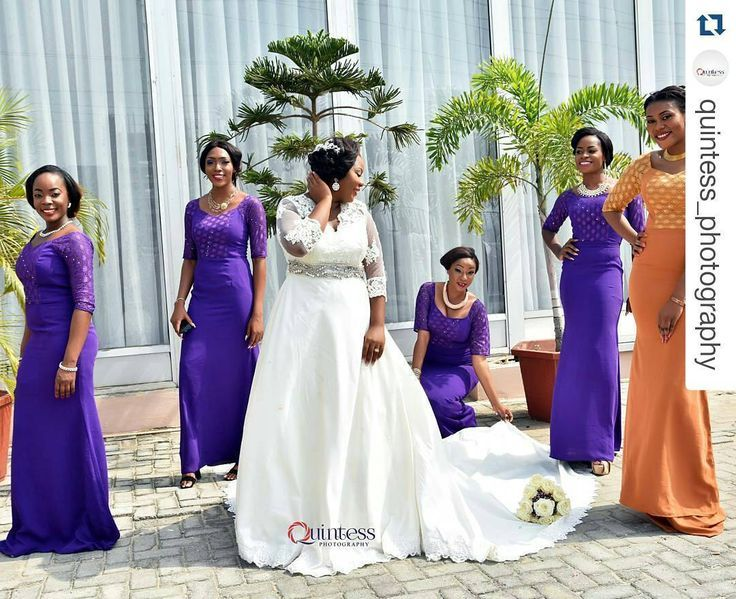 Anna M \'s african american bridesmaids dresses Photo. Pinned in ...
