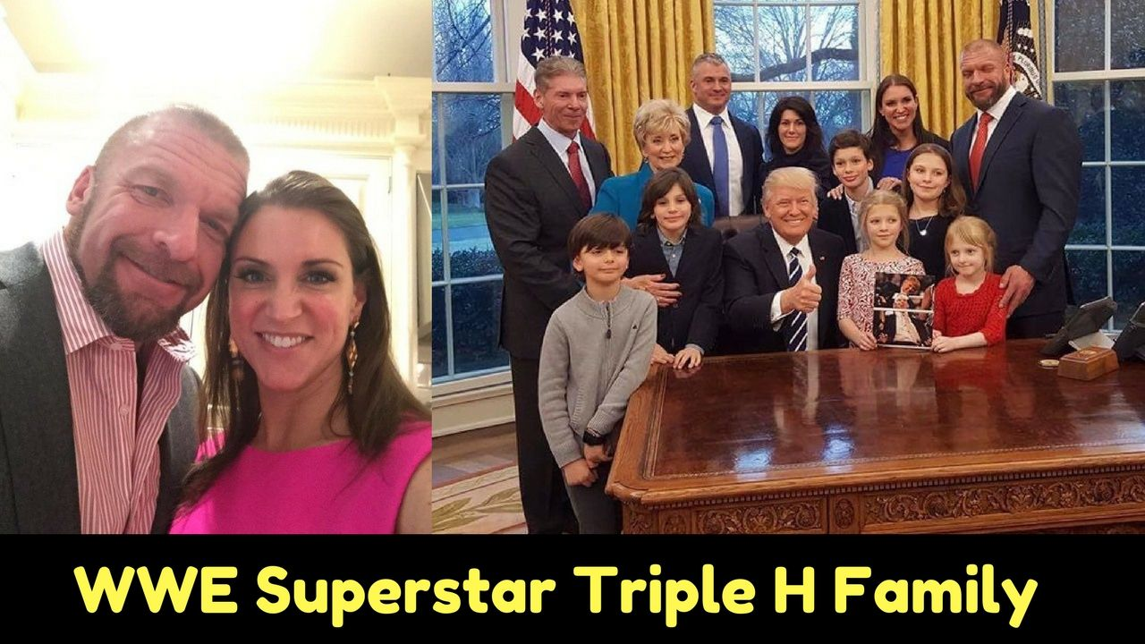Pin By Manik Chy On Triple H Family Stephanie Mcmahon