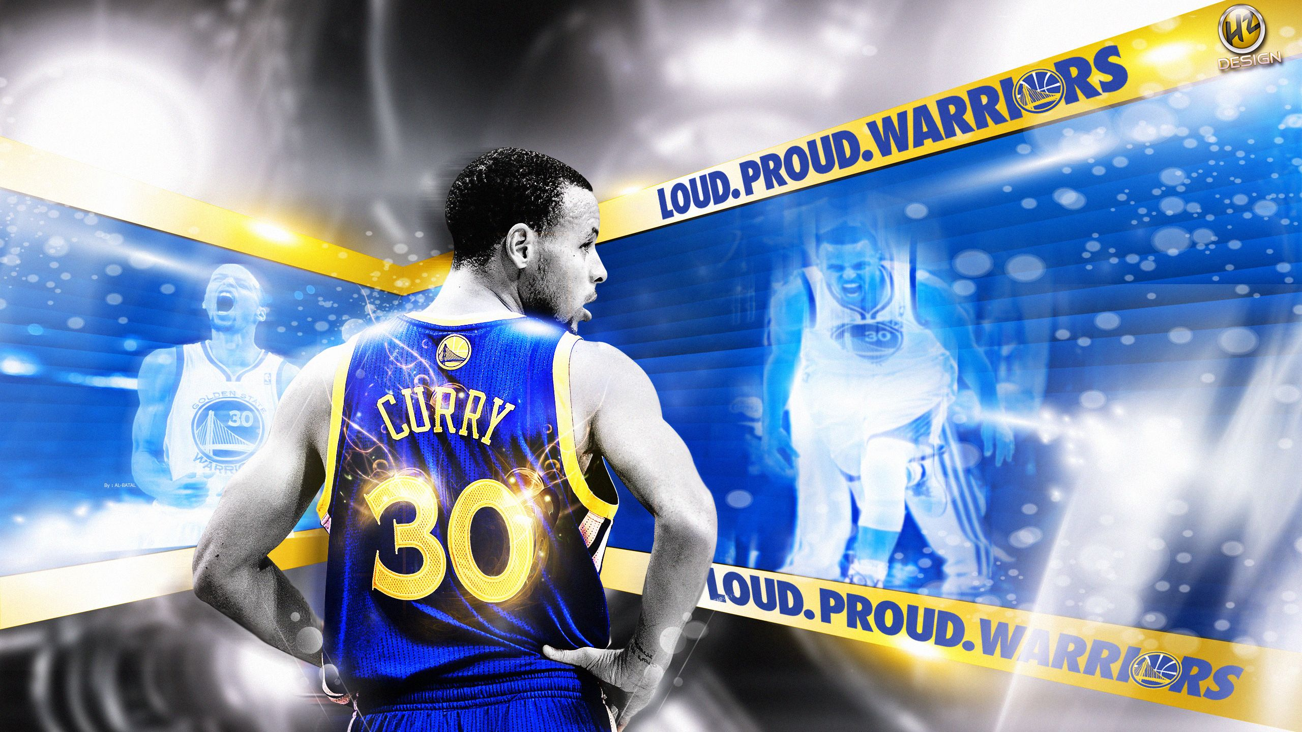 Stephen Curry Background Wallpaper