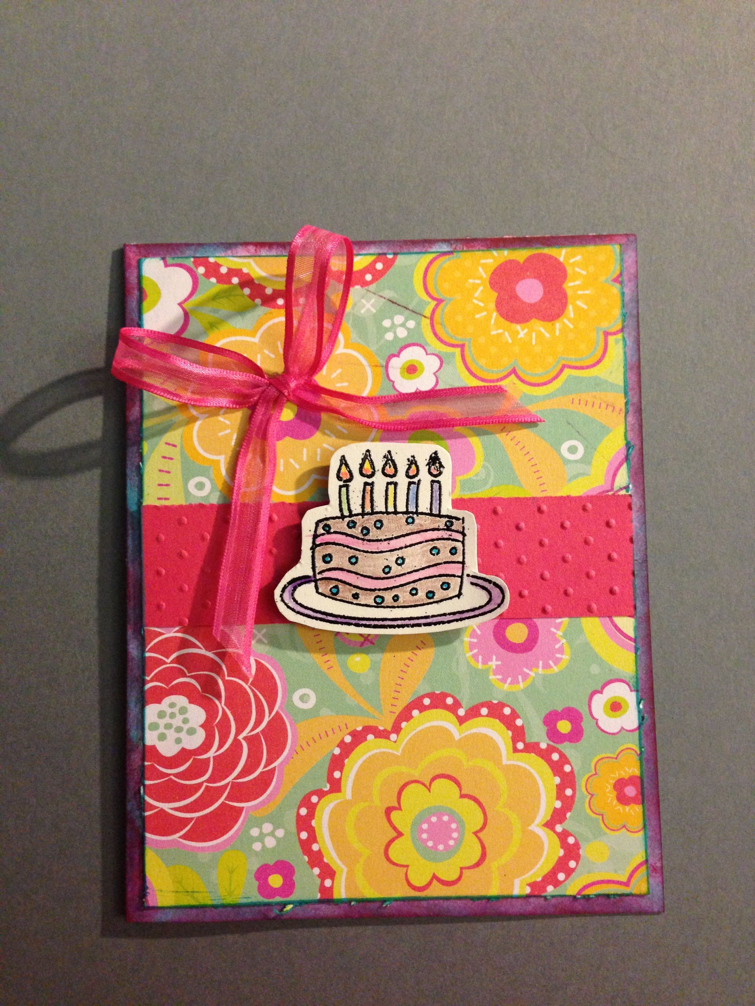 Simple Handmade Birthday Card Cards Pinterest Handmade