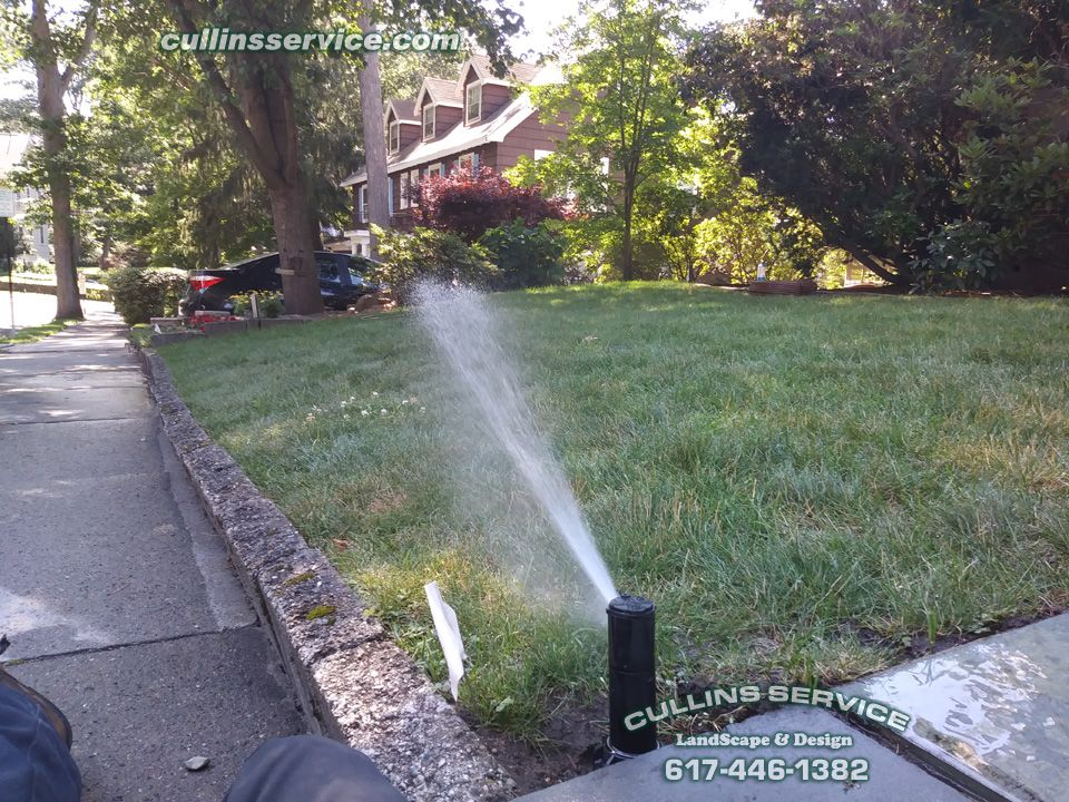 Irrigation Installation Complete Sprinkler Heads Adjusted No Leaks Full Coverage All Wired Up Pressure Valve Fo Landscaping Supplies Landscape Lawn Repair