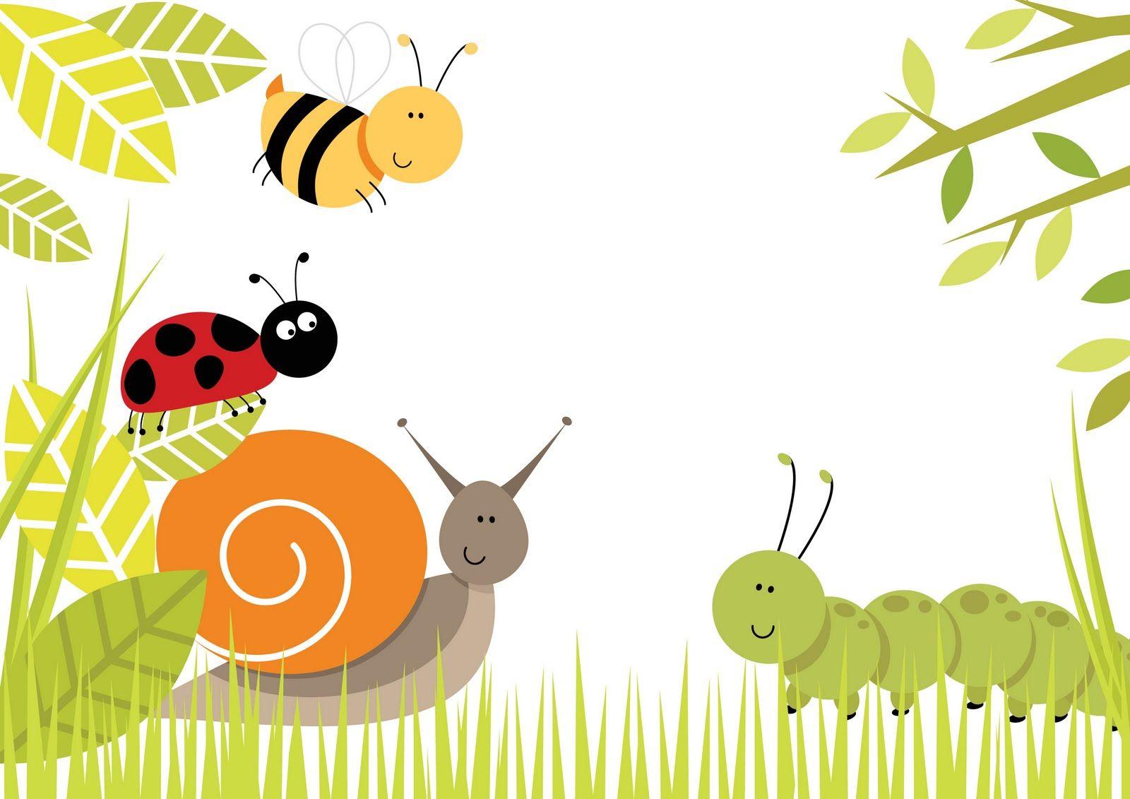 Cute Bug 27 Wallpaper Background Hd | Painted Pots | Pinterest ...