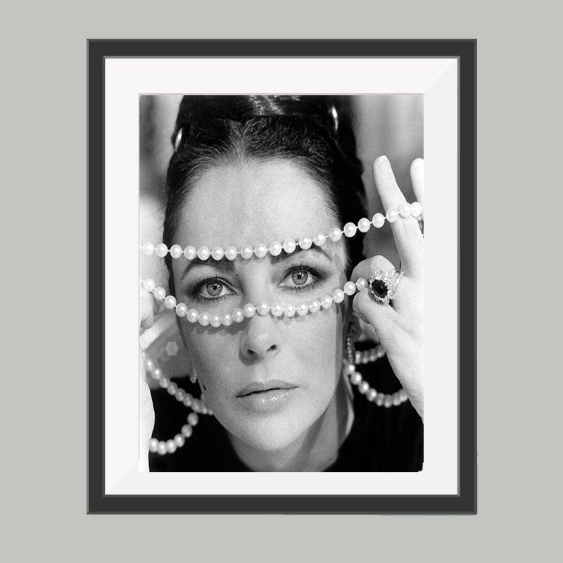 Elizabeth Taylor poster, leuke poster om bijvoorbeeld op te hangen ...