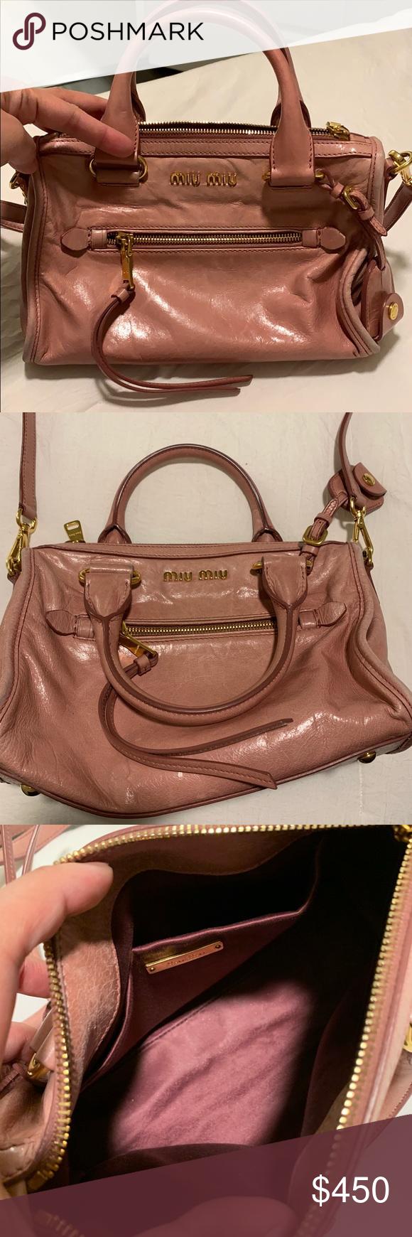 b3d1a6db27af Miu Miu crossbody bag crossbody blush bag Miu Miu Bags Crossbody Bags