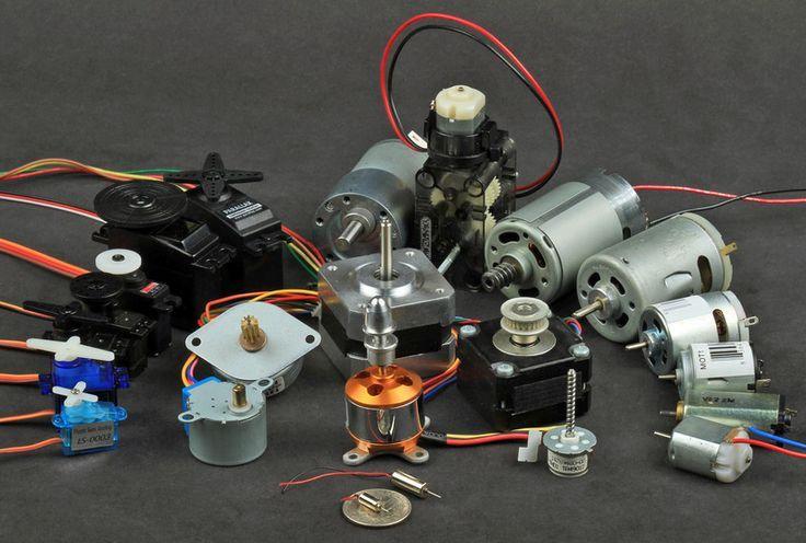 Types of Motors Adafruit Motor Selection Guide