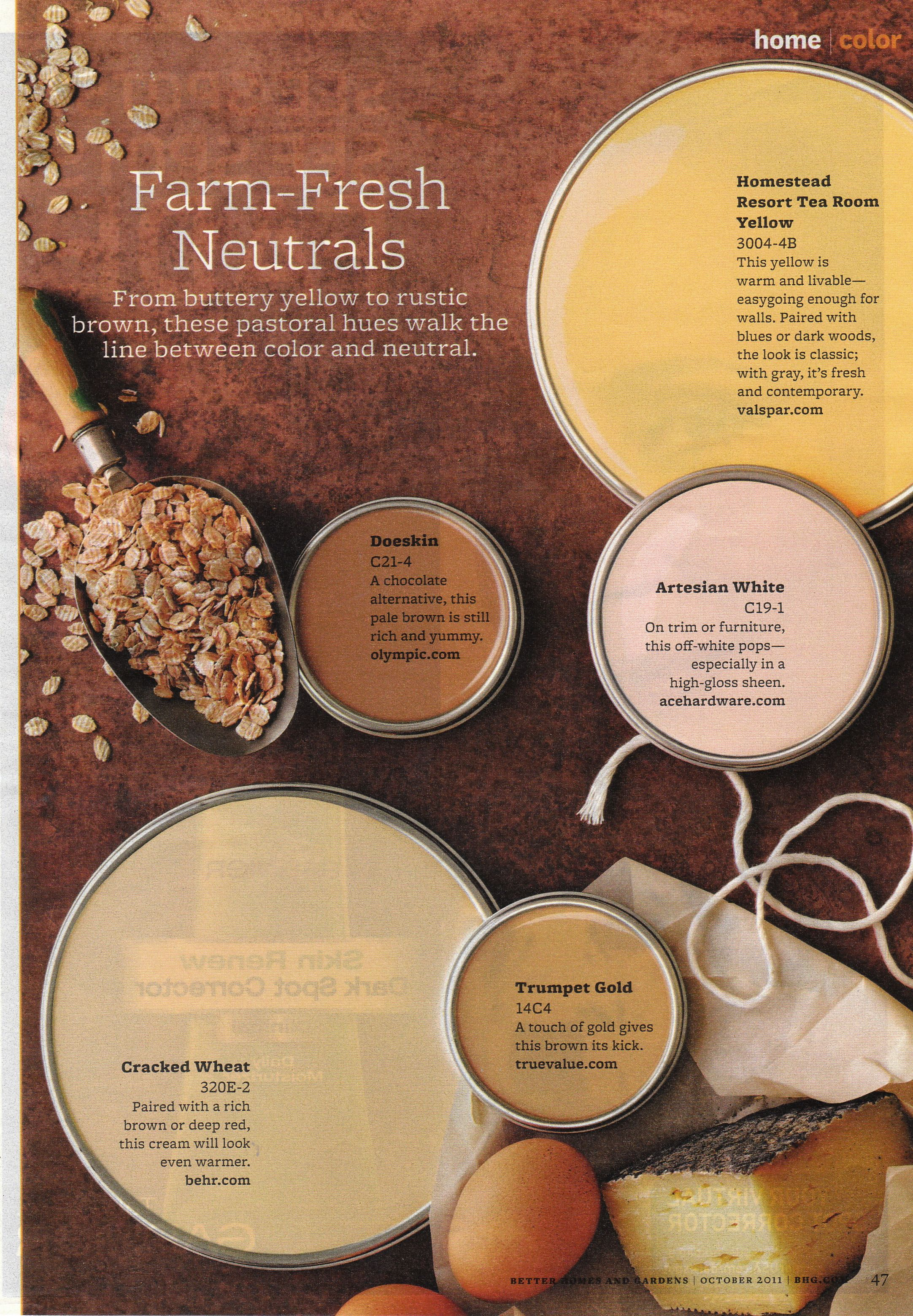 Cracked wheat living room pinterest decorating for Natural paint color palette