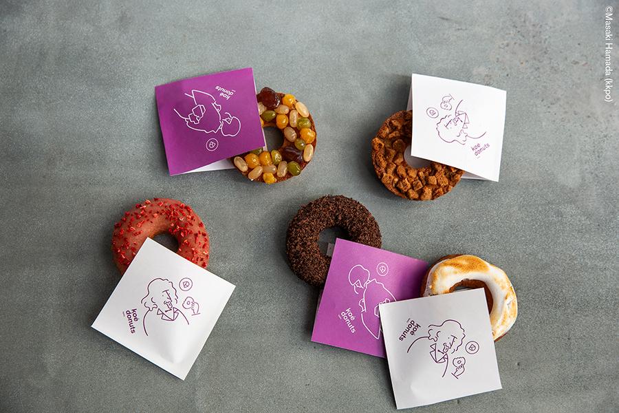 koé donuts kyoto artless Inc. news and portfolio
