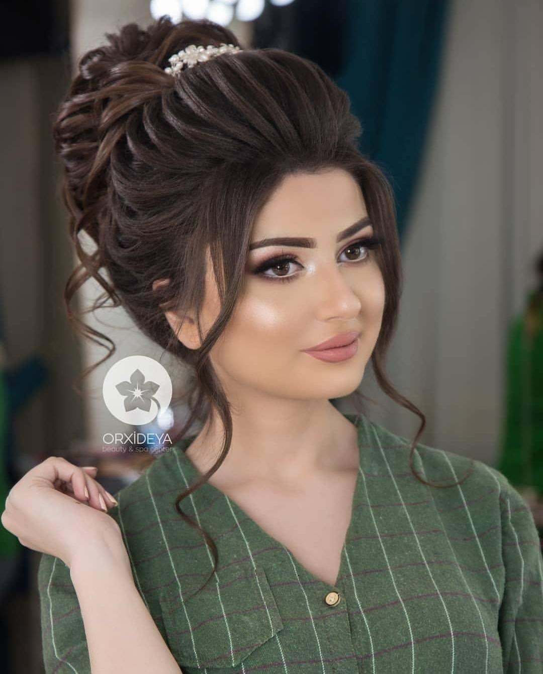 Pin By Rama Sultan On Hair Style Bridal Hair Buns Long Hair Wedding Styles Bun Hairstyles
