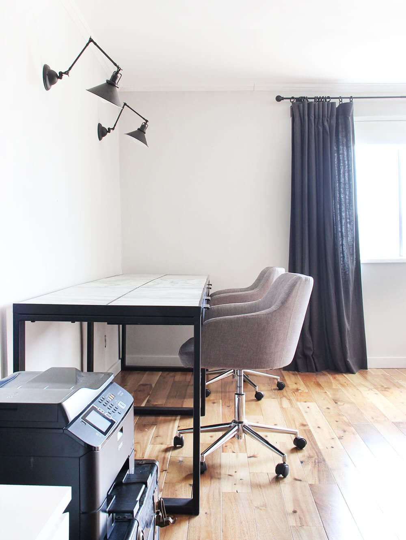Custom Made Marble Office Desk