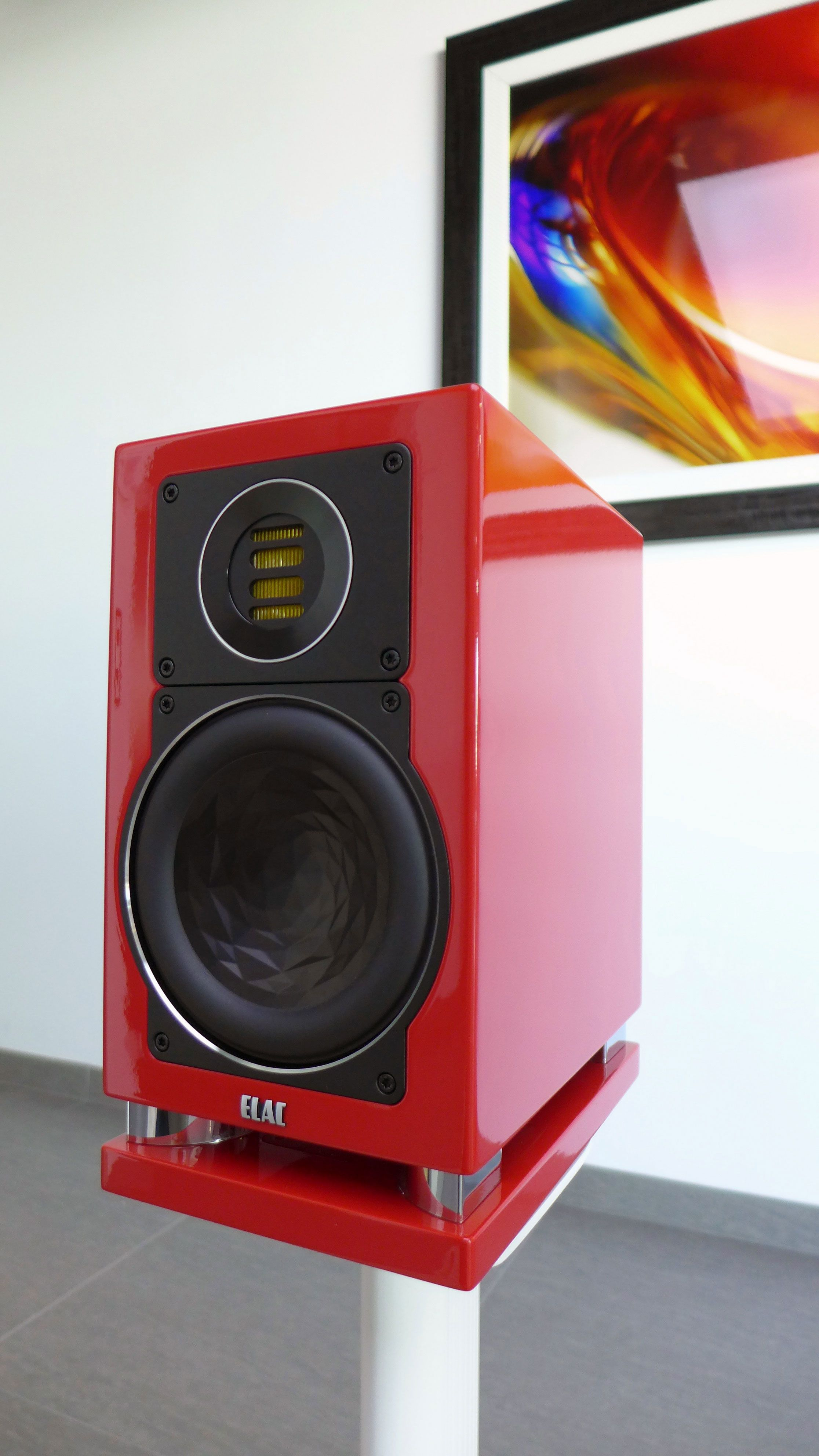 Rutherford Audio News A Glimpse of Custom Porsche ELAC Speakers