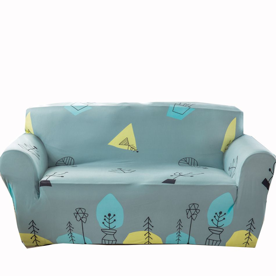 Stretch Couch Sofa Covers Anti Slip Corner Sofa Cover For Living  ~ Turquoise Slipcover Sofa