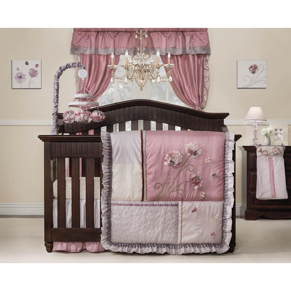 Kids Line Fleur 9 Piece Crib Bedding Set Babies R Us This Is Actually My Bed