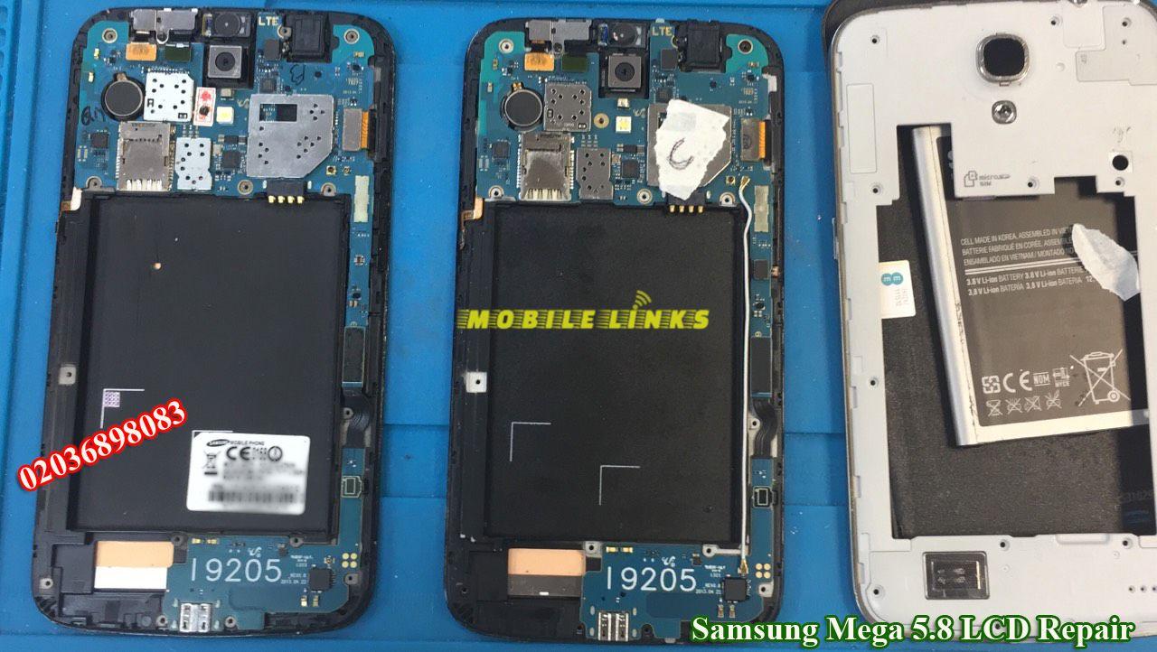 Samsung Mega 5.8 LCD Replacement Repair at Mobile Link E13